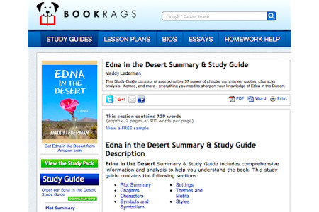 A Smart Study Guide for Edna!